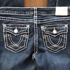 LA Idol Jeans BLING 💎 Size 11 Juniors EUC
